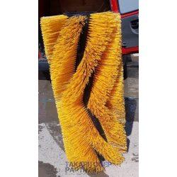 Fő seprő kefehenger Tennant 830 II utcaseprőhöz, kevert szál (műanyag + fém huzal)