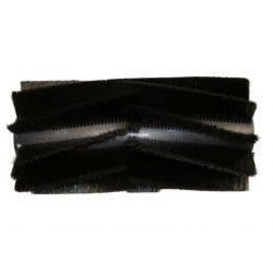 Hengerkefe (Hako Hamster 650E / Sweepmaster B650 2013-tól) 40cm 02-03PPL fekete