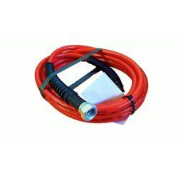 """Nagynyomású tömlő 4,2m, piros Ehrle Dibo Christ Uniwash autómosókhoz (1/4"""" belső - 1/4"""" belső)"""