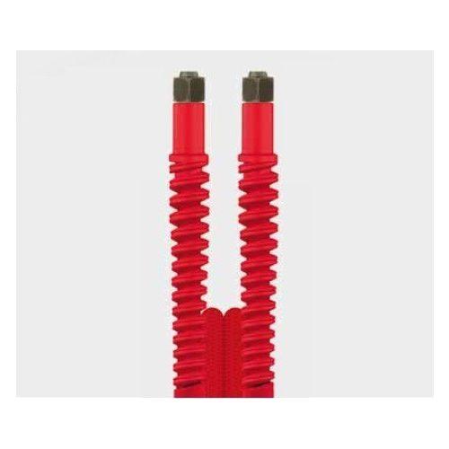 Nagynyomású tömlő 5m piros Ehrle Dibo Christ Uniwash autómosókhoz (M14 belső - M14 belső)
