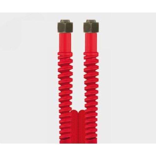 Nagynyomású tömlő 4,5m, piros Ehrle Dibo Christ Uniwash autómosókhoz (M18 belső - M18 belső)