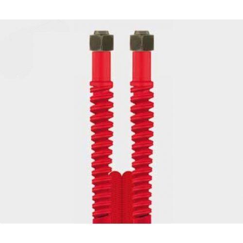 Nagynyomású tömlő 5,5m piros Ehrle Dibo Christ Uniwash autómosókhoz (M18 belső - M18 belső)