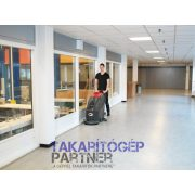 Viper AS 510 B ipari takarítógép intézmény padlóját takarítja