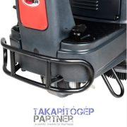 VIPER AS 710 R vezetőüléses padlótisztító gép ütköző