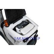 """Nilfisk SC 2000 53 B """"Full package"""" vezetőüléses padlótisztító (akkumulátor+töltő+kefe)"""