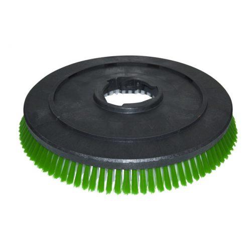 "Kefe (Numatic / Fiorentini géphez) puha 17"" 45cm fehér-zöld PPL 0,45mm"