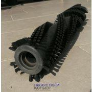 Hengerkefe (Nilfisk SSE 480 géphez) 495/86 mm PPL 0,2 mm fekete