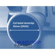 Parketta porszívófej Puha természetes szőr H300R DN35-6