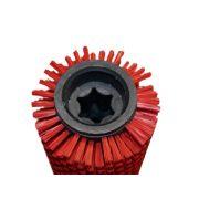 Hengerkefe piros Karcher +R90 kefefejhez /6.907-377.0 helyett/