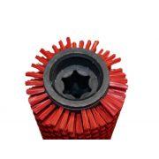 Hengerkefe piros Karcher +R75 kefefejhez /4.035-190.0 helyett/