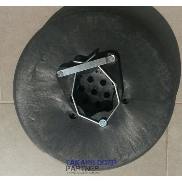 """Kefe (Tennant géphez) erős 14"""" 35cm PPL 0,9mm fekete"""