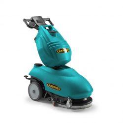 Eureka E46 B ipari padlótisztító gép (akku+töltő+kefe+szívógumi)