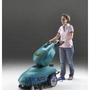 Eureka E46 B akkumulátoros padlótisztító gép egyszerű kezelőfelület