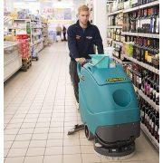 Eureka E50 Base ipari padlótisztító gép áruház kiskereskedelmi üzlet takarítás járólapos padlón