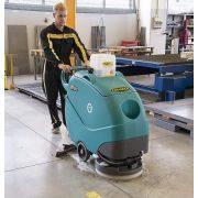 Eureka E50 Base ipari raktár csarnok gyártóüzem csiszolt beton padlón takarít