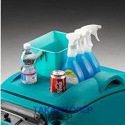 Eureka E50 Base ipari padlótisztító gép tartályfedél tartozéktároló a tisztítószereknek