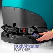Eureka E50 Base ipari padlótisztító automata egyszerű vízszűrő csere