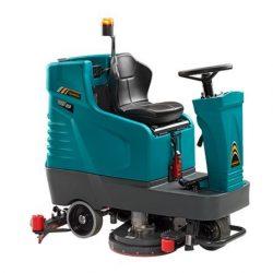 Eureka E65 / E75 / E83 vezetőüléses ipari padlótisztító gép (akku+töltő+kefe)
