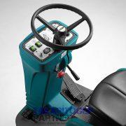 Eureka E65 E75 E83 vezetőüléses ipari padlósúroló gép egyszerű kezelőfelület