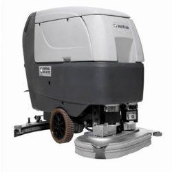 Nilfisk BA 611 D önjáró padlótisztító gép (akkumulátor + töltő + kefe)