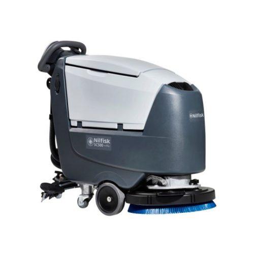 Nilfisk SC500 B FULL PKG önjáró padlótisztító gép + akku + töltő + kefe