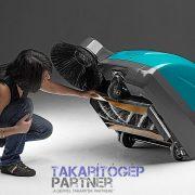 Eureka Kobra SH benzinmotoros szívó seprőgép