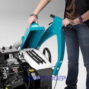 Eureka Kobra SH benzines seprőgép szűrője és motorja