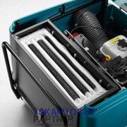 Eureka Tigra ipari seprőgép zsákszűrője