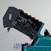Eureka Xtrema EB akkumulátoros iparim seprőgép hidraulikus ürítéssel