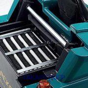 Eureka Xtrema EB akkumulátoros iparim seprőgép nagy felületű poliészter szűrője