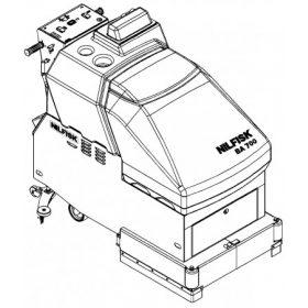 BA 800 (81cm két kefés)